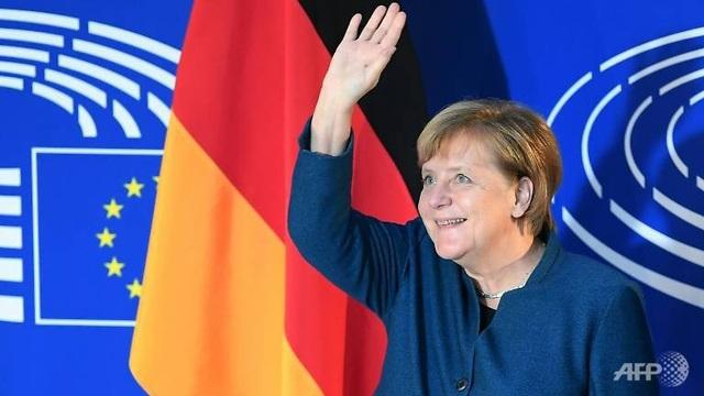 Thủ tướng Đức Angela Merkel (Ảnh: AFP)