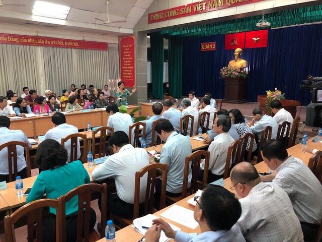 Chủ tịch UBND TPHCM Nguyễn Thành Phong lần thứ 3 đối thoại người dân Thủ Thiêm
