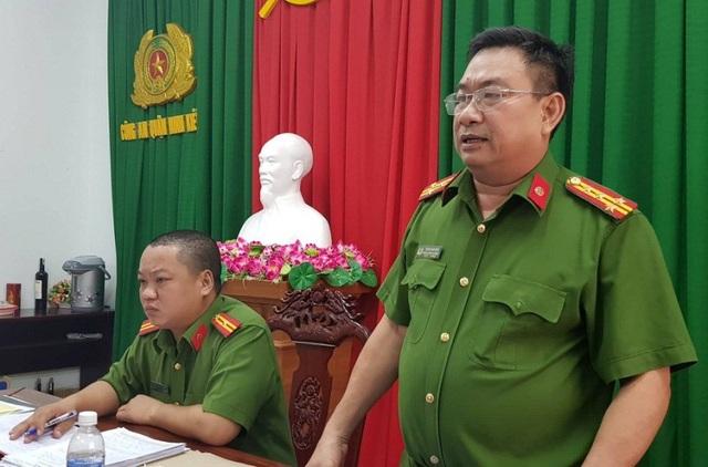 Đại tá Trần Văn Sáu, Trưởng Công an quận Ninh Kiều khẳng định những thông tin ông V. đăng lên mạng xã hội là bịa đặt.