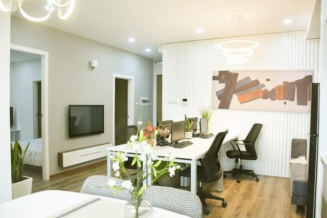 Căn hộ Officetel EcoLife Capitol có diện tích đa dạng, linh hoạt từ 36-63-100 m2