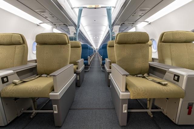 """Vietnam Airlines """"trình làng"""" máy bay Airbus 321neo hiện đại nhất - 6"""