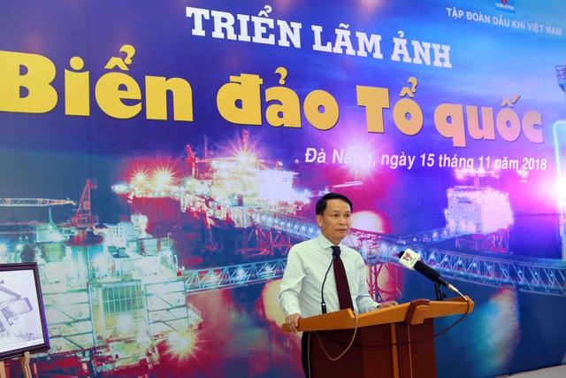 Ông Nguyễn Đức Lợi - Ủy viên Trung ương Đảng, Tổng Giám đốc Thông tấn xã Việt Nam phát biểu tại lễ khai mạc