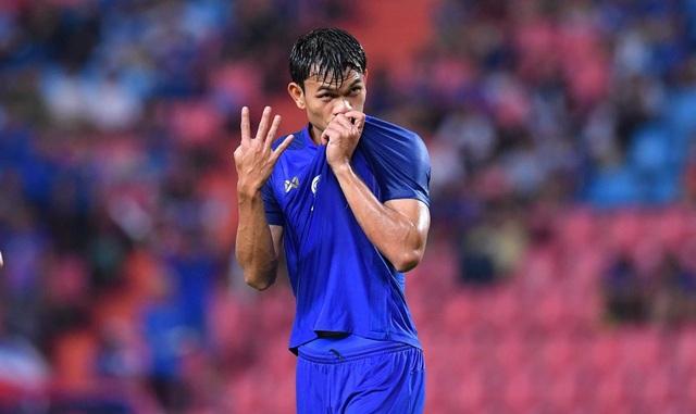 Adisak Kraisorn ghi 6 bàn thắng vào lưới đội tuyển Timor Leste