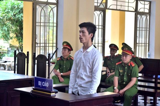 Bị cáo Linh tại phiên tòa