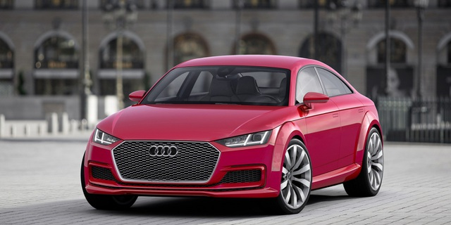 Audi TT thế hệ mới sẽ trở thành xe thể thao 4 cửa? - 1