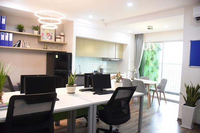 Căn hộ Officetel EcoLife Capitol vừa để ở, vừa làm văn phòng, giá thuê chỉ từ 10 triệu đồng/tháng