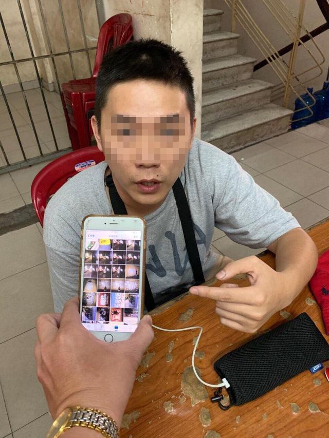 Có rất nhiều hình ảnh trong điện thoại của Chang Yu Jui và người này thừa nhận do mình vẽ bậy rồi chụp lại.