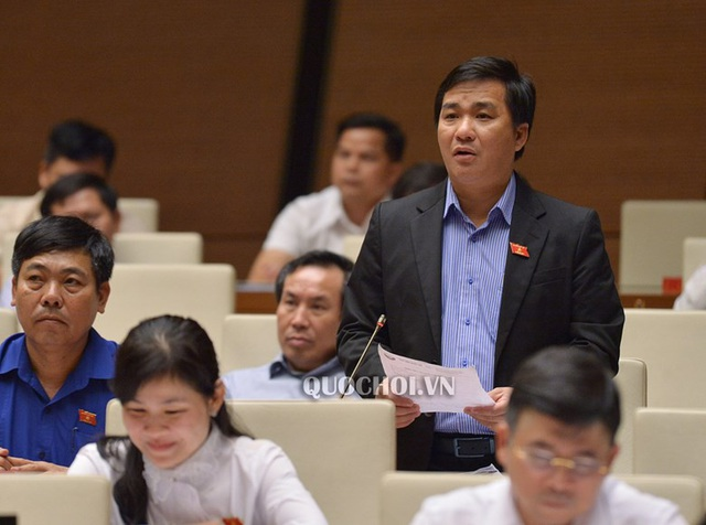 Đại biểu Quốc hội Dương Minh Tuấn góp ý về vấn đề thí điểm, thực nghiệm giáo dục