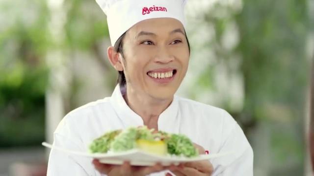 Cùng với Chí Tài, Hoài Linh cũng rất có duyện với các đoạn phim quảng cáo của Meizan. Danh hài từng xuất hiện trong quảng cáo Meizan suốt nhiều năm liền.