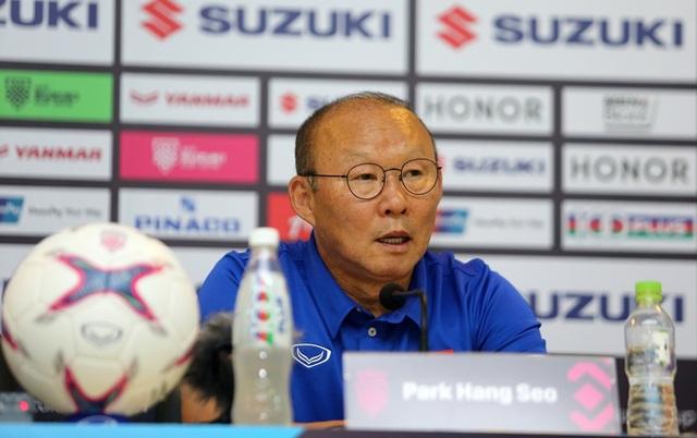 HLV Park Hang Seo khẳng định đội tuyển Việt Nam đủ vốn để đánh bại Malaysia