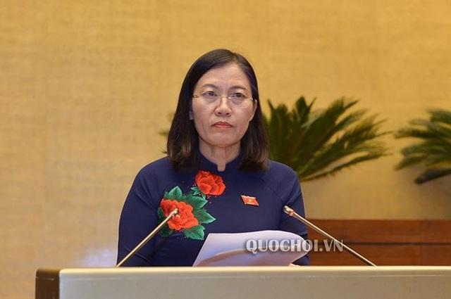 Bà Lê Thị Nga – Chủ nhiệm Ủy ban Tư pháp