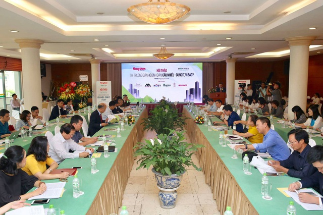 Phân khúc nhà ở giá trung bình thấp ở Việt Nam chiếm tới 80% cầu về nhà ở, còn giá cao chỉ chiếm 20%.