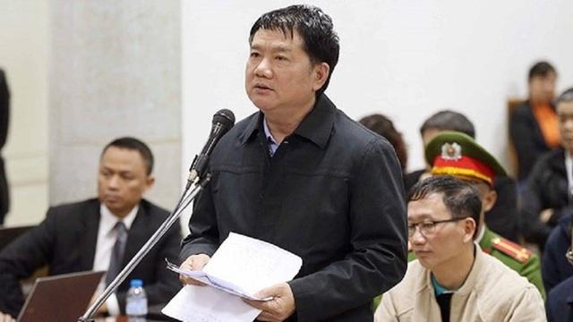 Tài sản của ông Đinh La Thăng chỉ có 1 nhà chung cư, trong khi phải thi hành án số tiền lên tới hơn 600 tỷ đồng.