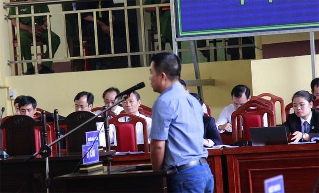 Bị cáo Phạm Quang Minh.
