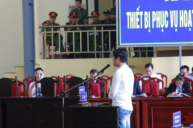 Bị cáo Phạm Quang Thành.
