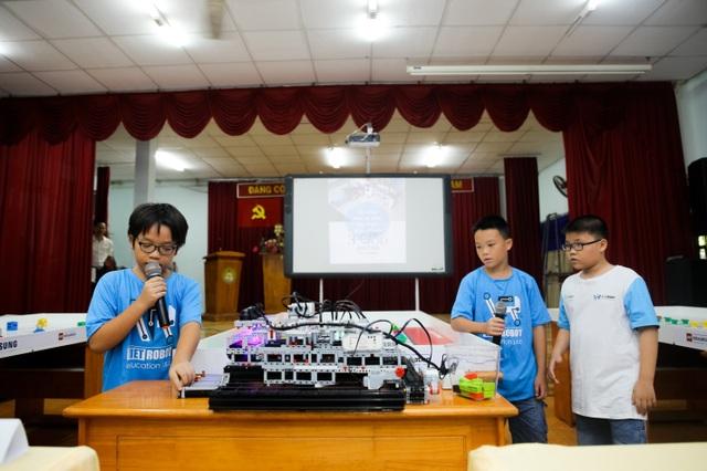 Đội Việt Robot B4 – 01 giới thiệu về mô hình Robot sẽ tham dự WRO 2018 sắp tớ tại Thái Lan