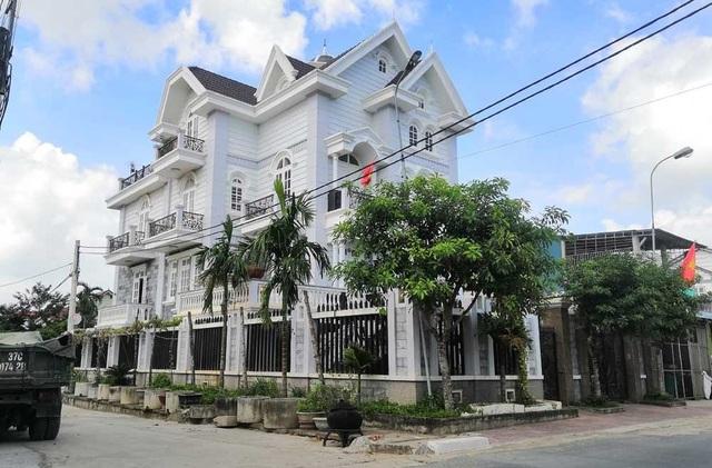 Một căn biệt thự ở xã Diễn Tháp, huyện Diễn Châu