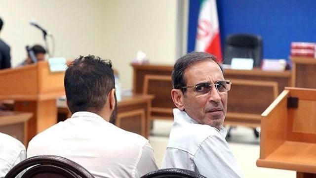 Vahid Mazloumin (phải) và đồng phạm bị kết án tử hình. (Ảnh: Reuters)