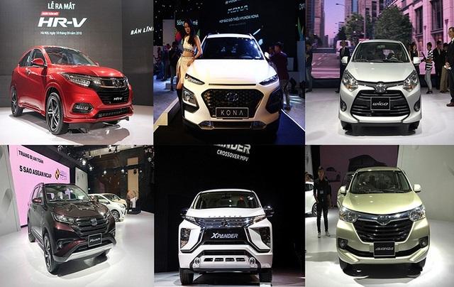 Có thêm hàng loạt các mẫu xe mới lần đầu tiên xuất hiện tại Việt Nam sau khi hàng rào thuế quan đối với ôtô giữa các nước ASEAN được gỡ bỏ.