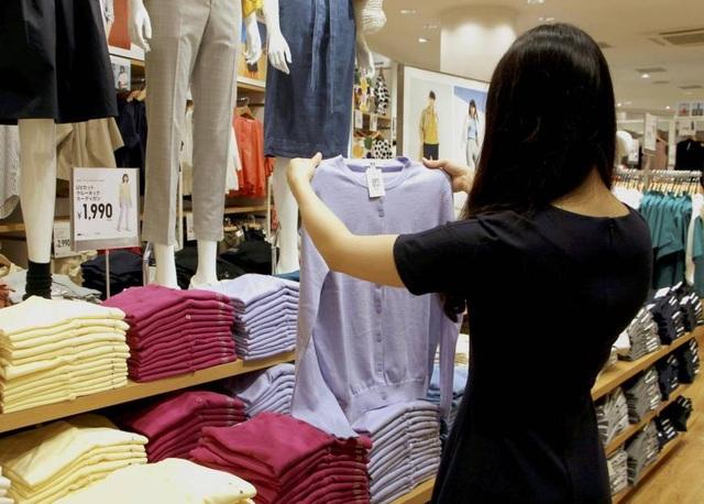 Cặp đôi hơn 20 tuổi đã ăn cắp tại hàng chục cửa hàng quần áo nổi tiếng của Nhật Bản để bán, lấy tiền đi du lịch. (Nguồn: The Japan Times)