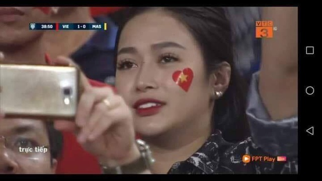 Vũ Thị Trang xuất hiện ở phút thứ 38 của trận đấu