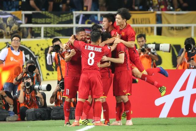 Việt Nam là đội duy nhất chưa hề thủng lưới tại AFF Cup 2018 (ảnh: Gia Hưng)