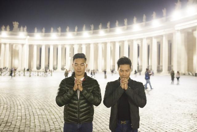 Quốc Cơ – Quốc Nghiệp thăm thú thành Rome trước khi lập kỷ lục thế giới - 13