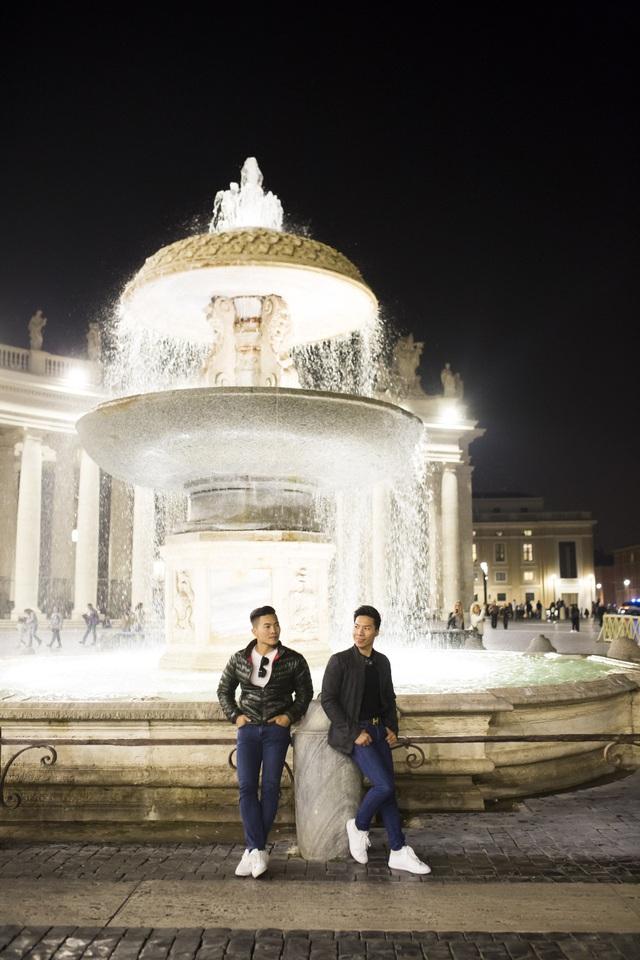 Quốc Cơ – Quốc Nghiệp thăm thú thành Rome trước khi lập kỷ lục thế giới - 10
