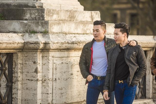 Quốc Cơ – Quốc Nghiệp thăm thú thành Rome trước khi lập kỷ lục thế giới - 8