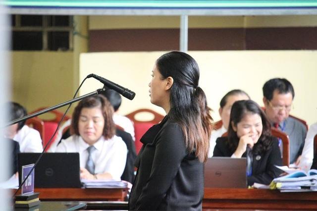 Bị cáo Lê Thị Lan Thanh.