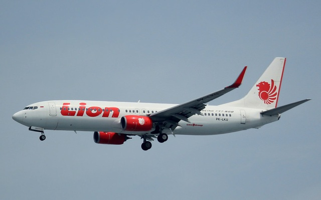 Một máy bay của hãng Lion Air (Ảnh: Flickr)