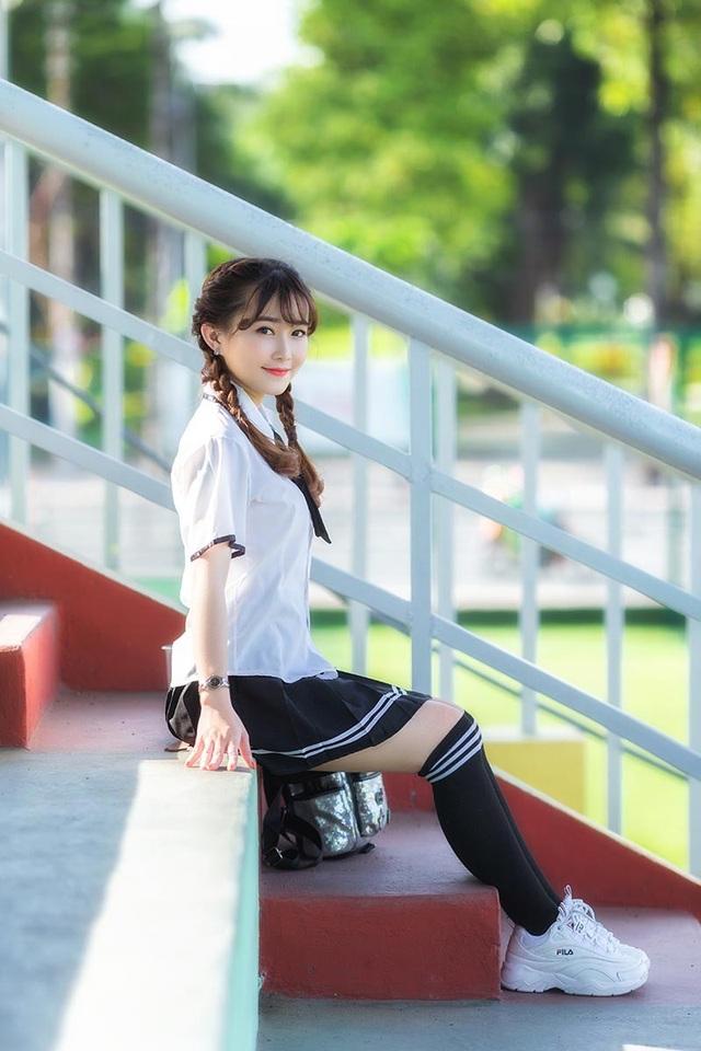 Nữ sinh Sài Gòn tên Mỹ Nhân, sở hữu nét đẹp trong sáng - 10