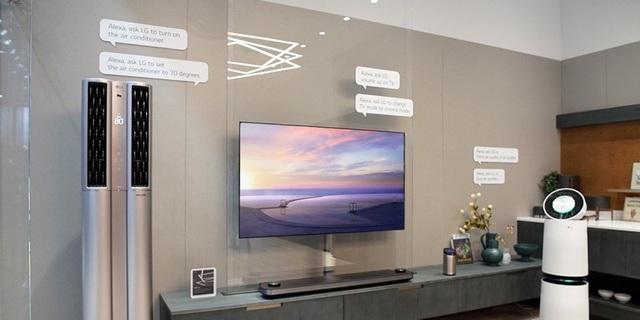 Dòng TV OLED siêu mỏng tích hợp trí tuệ nhân tạo LG ThinQ là TV có mặt ở nhiều phòng khách thượng lưu.