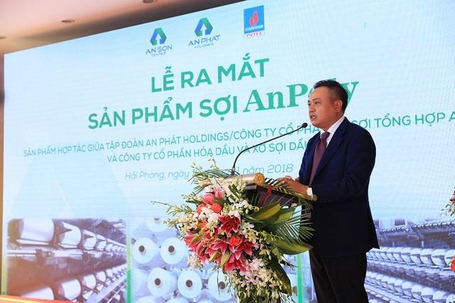 Ông Trần Sỹ Thanh – Chủ tịch Tập đoàn dầu khí Việt Nam chia sẻ những khó khăn cũng như nỗ lực không biết mệt mỏi của PVTex cùng với đối tác APH/An Sơn để có được những thành quả bước đầu.