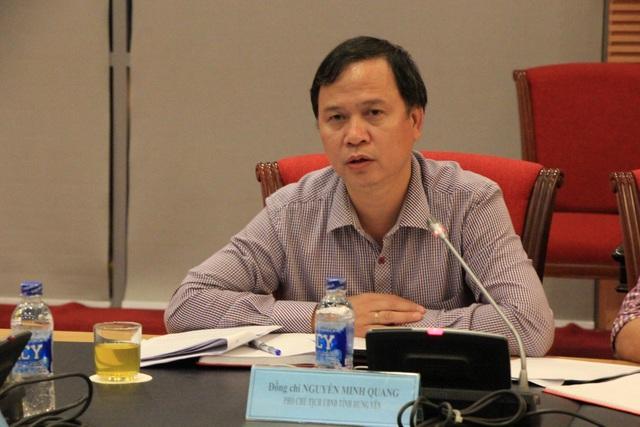 Ông Nguyễn Minh Quang - Phó Chủ tịch UBND tỉnh Hưng Yên.