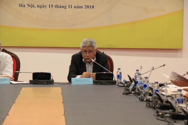 Ông Nguyễn Vinh Hà - Phó Chủ nhiệm Ủy ban Khoa học, Công nghệ và Môi trường của Quốc hội
