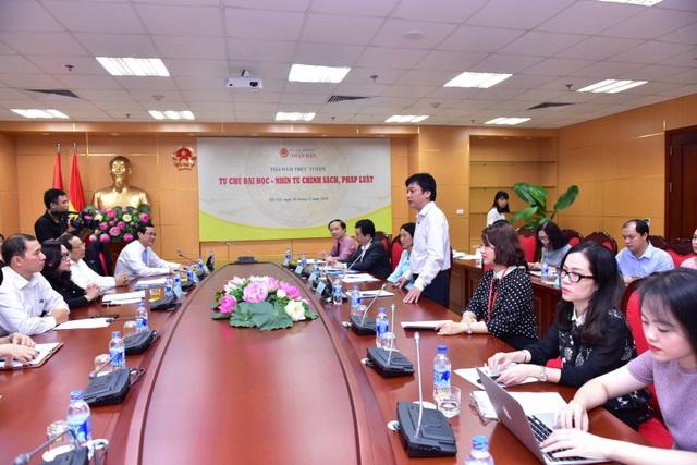 Các đại biểu tham dự buổi tọa đàm
