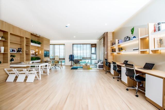 Officetel Golden King có diện tích đa dạng, thiết kế hiện đại và đa công năng, vừa có thể làm văn phòng vừa làm nơi cư trú, nghỉ ngơi.