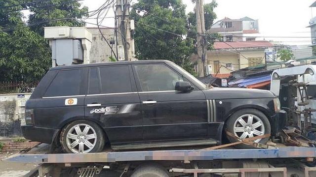 Chiếc Range Rover bán với giá hơn 650 triệu đồng