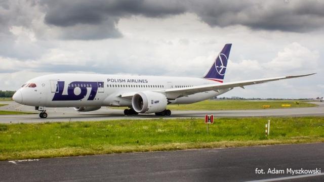 Một chuyến bay của hãng hàng không Ba Lan Polish Airlines