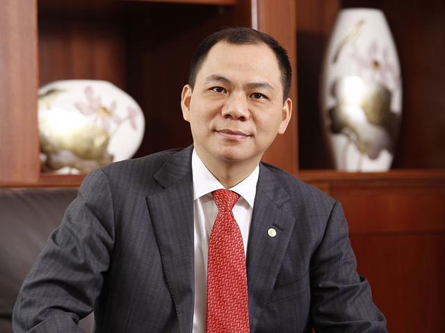 Dù giá cổ phiếu sụt giảm, ông Phạm Nhật Vượng vẫn đang sở hữu khối tài sản khổng lồ