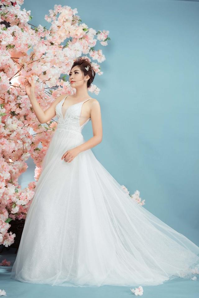 Hoa hậu Đại dương Đặng Thu Thảo sẽ hóa cô dâu thanh khiết sương mai - 3