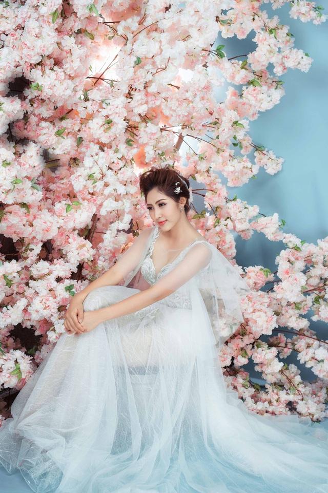 Hoa hậu Đại dương Đặng Thu Thảo sẽ hóa cô dâu thanh khiết sương mai - 2