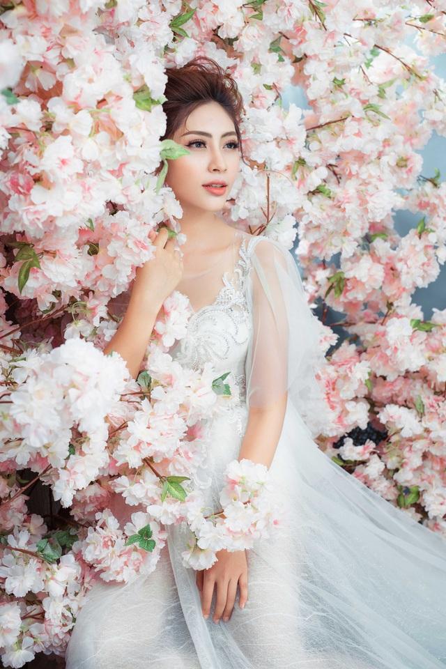 Hoa hậu Đại dương Đặng Thu Thảo sẽ hóa cô dâu thanh khiết sương mai - 1
