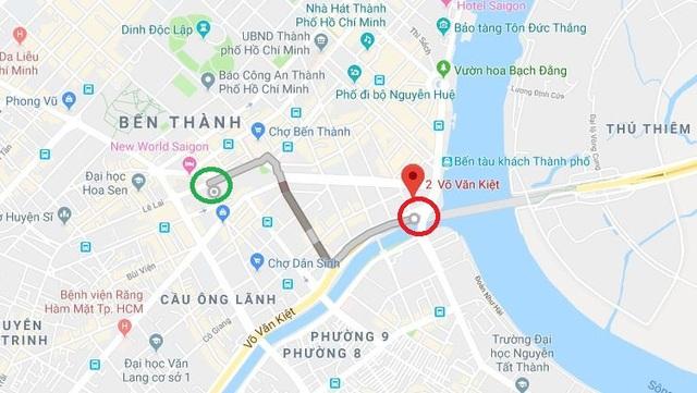 Bé trai lạc trong dòng người đi bão, lang thang từ công viên 23/9 cho đến hầm đường sông Sài Gòn