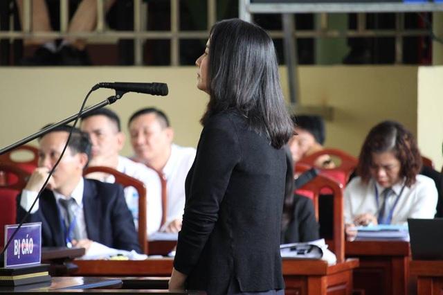 Bị cáo Lưu Thị Hồng.