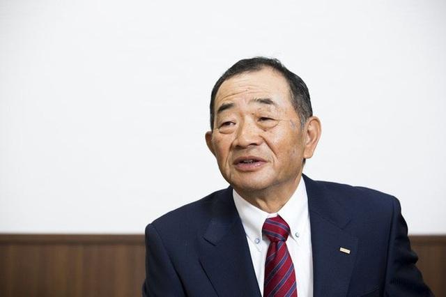 Ông Kunihiko Tanaka - người sáng lập chuỗi sushi băng chuyền Kura.