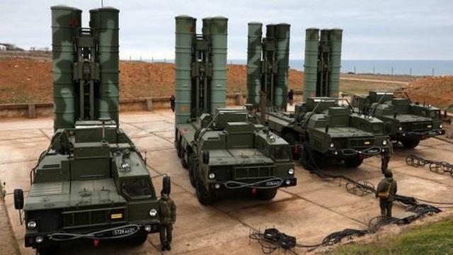 Hệ thống S-400 của Nga. Ảnh: GETTY