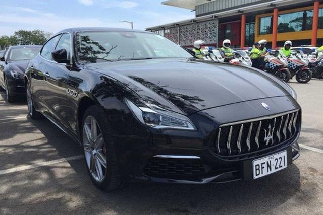 Chính phủ Papua New Guinea cũng bỏ tiền mua 40 chiếc xe sang Maserati. Ảnh: ABC