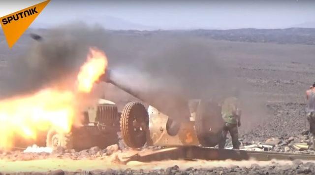Một vụ tấn công của quân đội Syria (Ảnh minh họa: Sputnik)